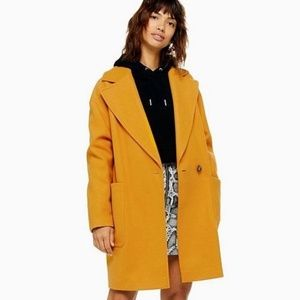 Last one! Topshop Carley Slouchy Oversized Coat